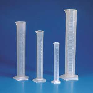 Ống đong nhựa đục PP CV 0.5ml, 25ml