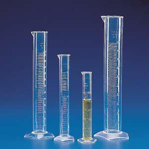 Ống đong nhựa trong PMP 25ml