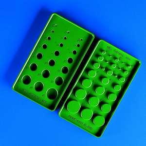 Khay giữ ống silicone bằng nhựa 90x165mm