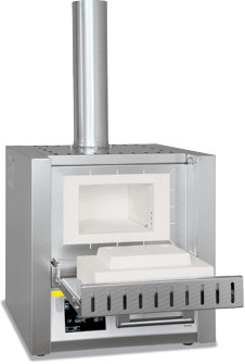 Lò nung lấy tro 3 lít 1100 độ cửa lật LV3/11 Nabertherm