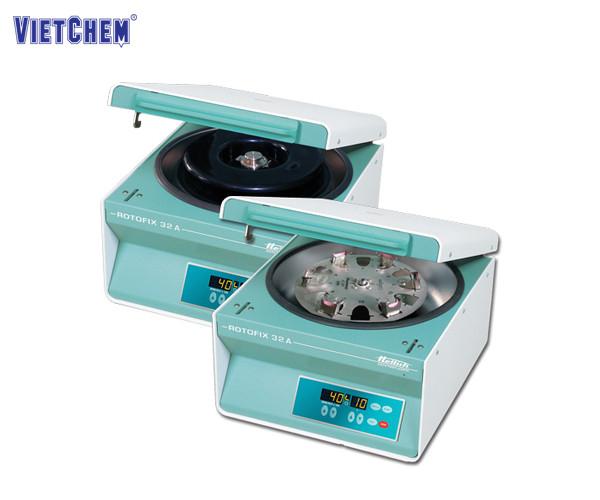 Hình ảnh máy ly tâmHettich được sử dụng phổ biến trong phòng thí nghiệm