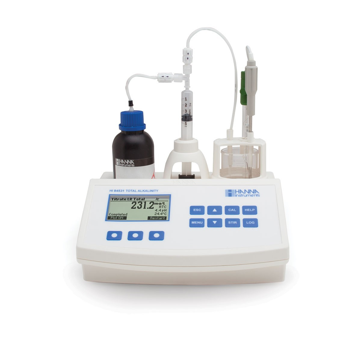 Máy phân tích nồng độ kiềm trong nước mini HI84531 Hanna