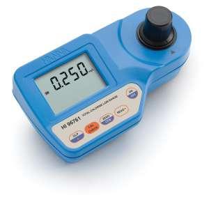 Máy quang đo Clo tổng thang thấp (0.000 to 0.500 mg/L) HI96761 Hanna