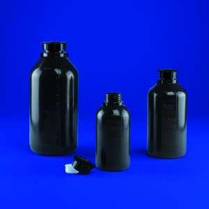 Chai nhựa xám, CV 25ml 250ml Kartell.
