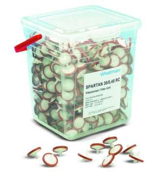 Spartan Syring lọc regenerated cellulose 0.45um, 30mm Whatman