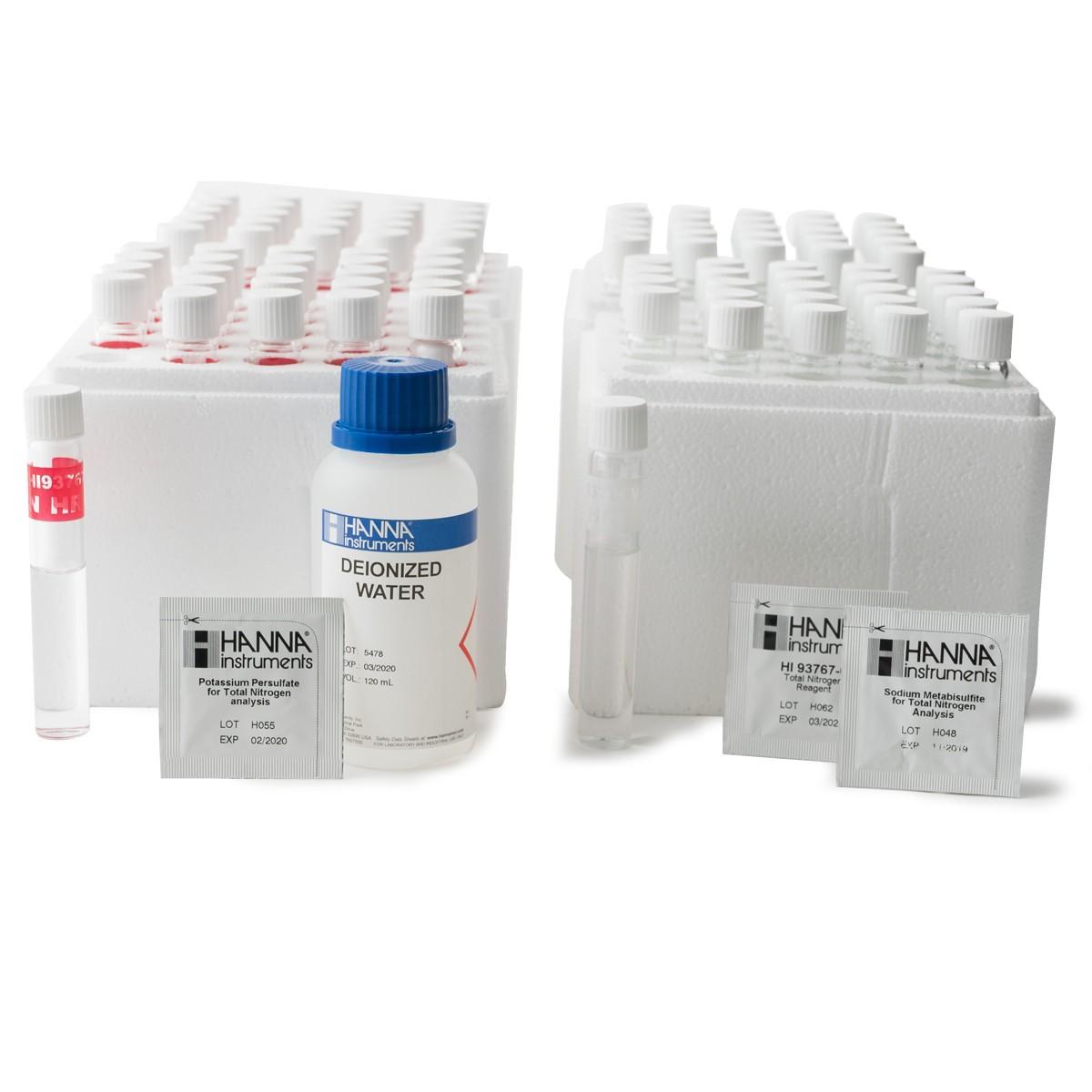 Thuốc Thử Nito Tổng Thang Cao (10-150mg/L) HI93767B-50 Hanna