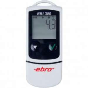 Thiết bị ghi nhiệt độ hiển thị số kết nối máy tính bằng cổng USB EBI 300 Ebro