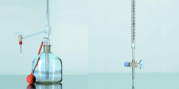 Buret thủy tinh Duran - Đức sử dụng phổ biến trong phòng thí nghiệm