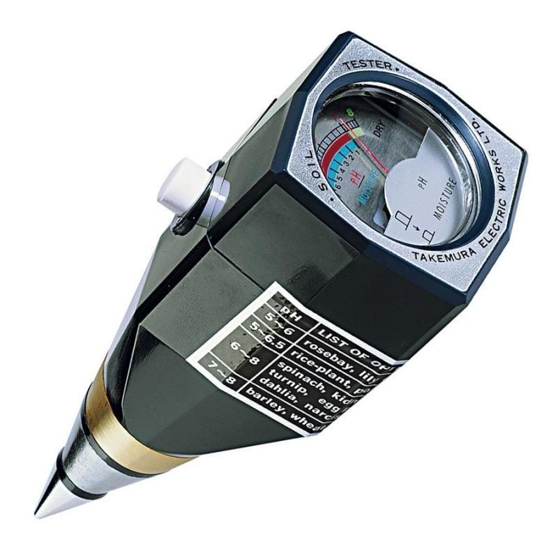 Máy đo pH và độ ẩm đất DM 15 Takemura-Nhật
