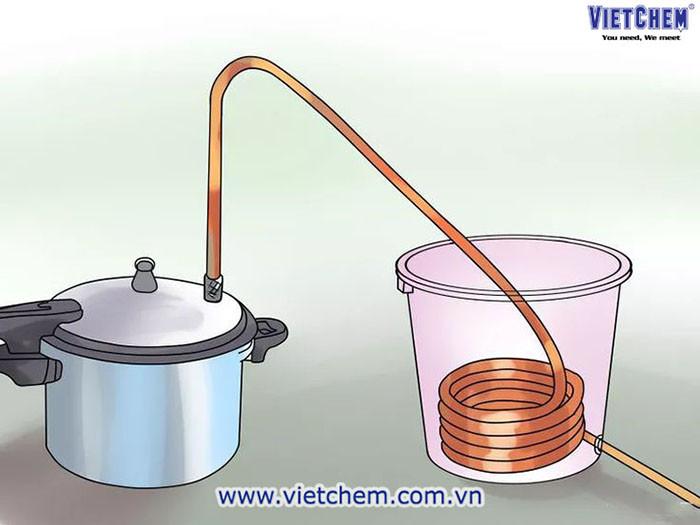 Bộ dụng cụ chưng cất tinh dầu tại nhà