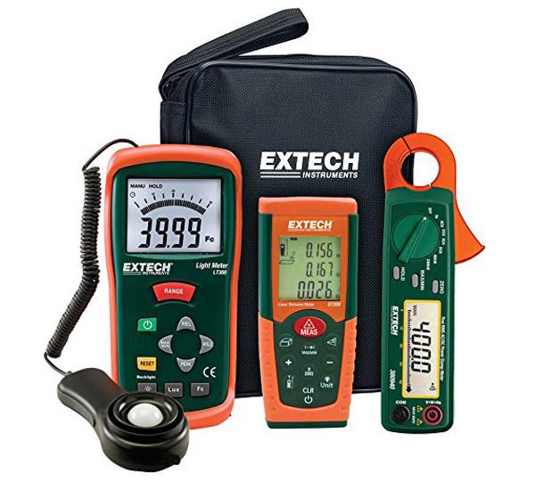 Dụng cụ đo nhiệt độ, độ ẩm, tốc độ trong thí nghiệm vật lý