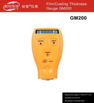 Máy đo độ dày lớp phủ GM 200 Benetech