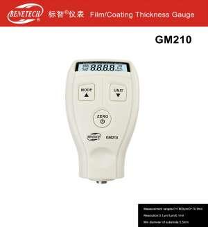 Máy đo độ dày lớp phủ GM 210 Benetech