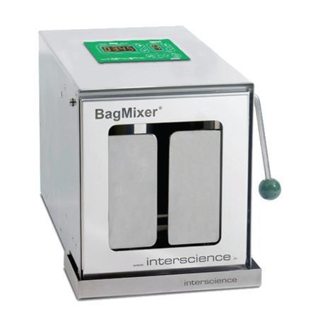 Máy dập mẫu 50-400ml cửa kính BagMixer 400VW Interscience