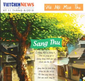 Tạp chí VietChem News Kỳ 11 tháng 08.2018