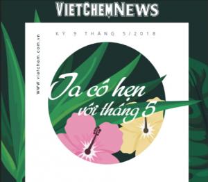 Tạp chí VietChem News Kỳ 9 tháng 05.2018