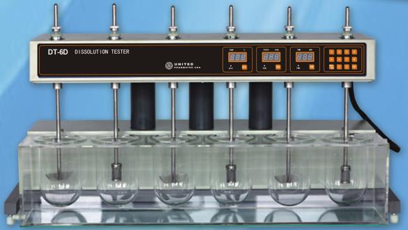 Máy đo độ hòa tan DT-6D United Pharmate