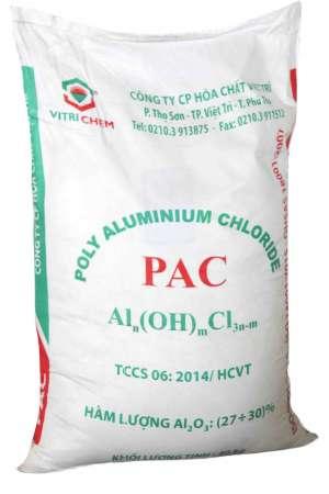 Hóa chất PAC 30% (Poly Aluminium Chloride) Việt Nam