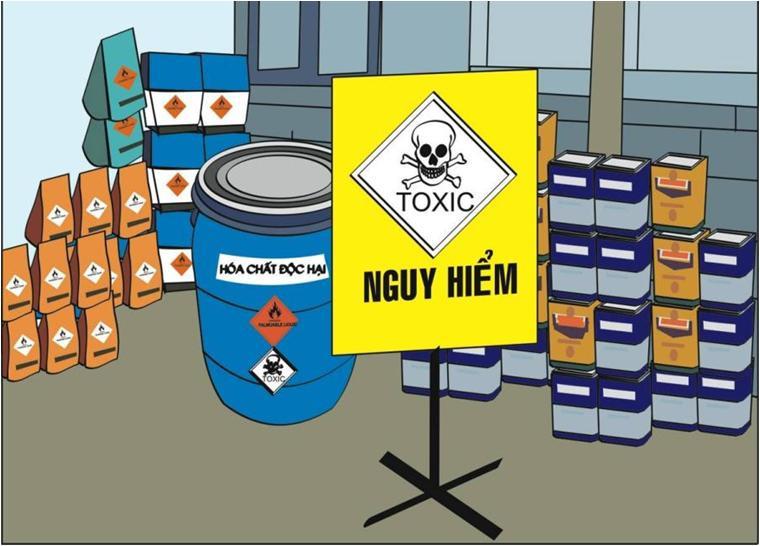Phiếu an toàn hóa chất cho biết đầy đủ thông tin về hóa chất