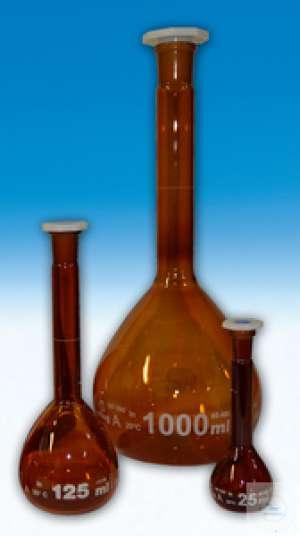 Bình định mức thủy tinh 25 ml (Nâu) Trung Quốc