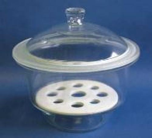 Bình hút ẩm thủy tinh phi 120 mm Trung Quốc