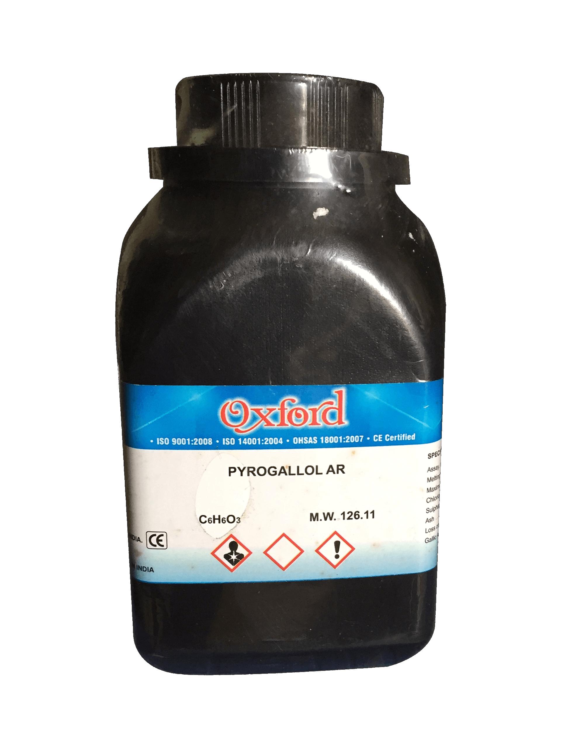Pyrogallol C6H3(OH)3 98.5% AR Ấn Độ