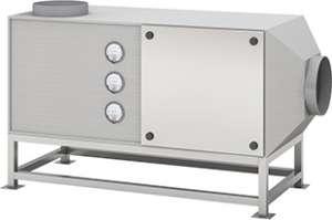 Máy lọc và hấp thu khí có mùi trong tủ hút HMRTF-FB Hankook