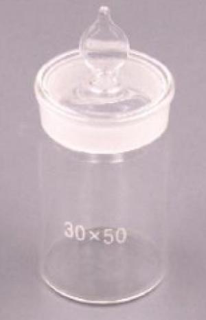 Chén cân cao có nút thủy tinh Cordial Lab Trung Quốc