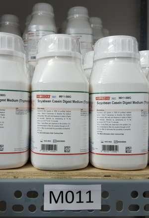 Tryptone Soya Broth (Soyabean Casein Digest Medium) M011 Himedia Ấn Độ
