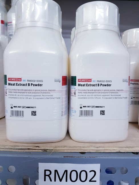 HM Peptone B Powder RM002 Hiemdia Ấn Độ