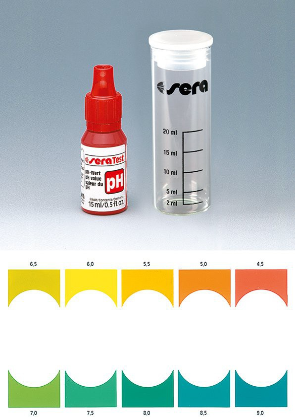 Kit test pH 100 lần test Sera