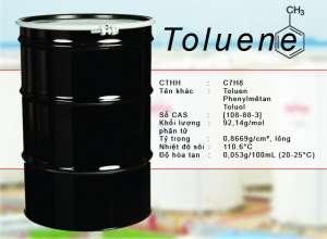 Cùng làm quen với dung môi Toluen và một số lưu ý khi sử dụng hóa chất Toluen