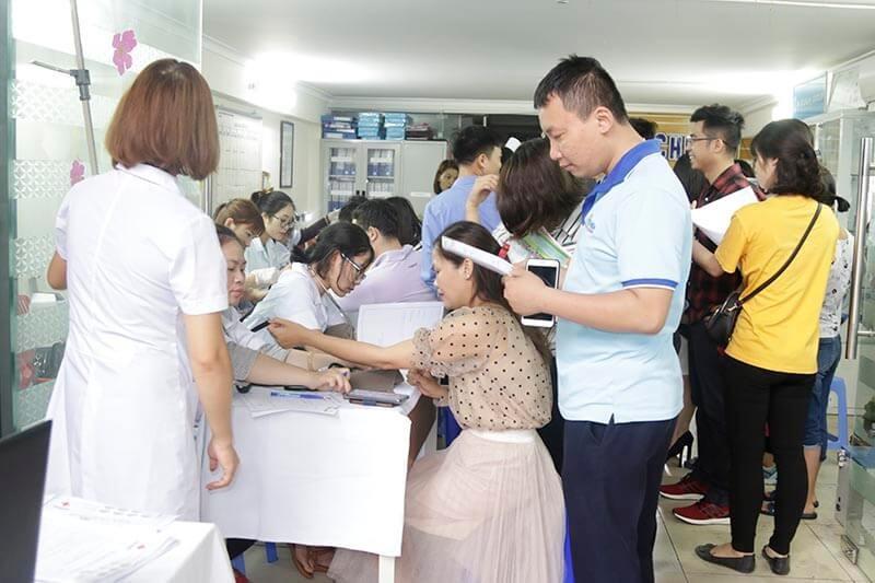 khám sức khỏe định kỳ đo huyết áp