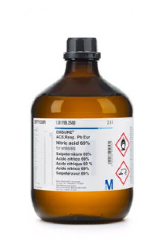 NITRIC ACID 69% EMPARTA 2,5 L Merck Đức