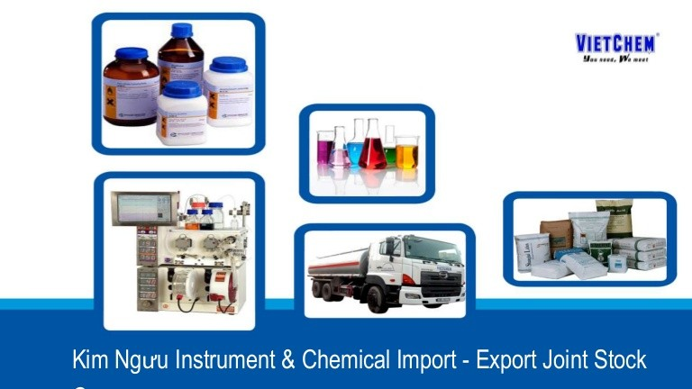 VIETCHEM- Địa chỉ mua sắm hóa chất thí công nghiệp uy tín