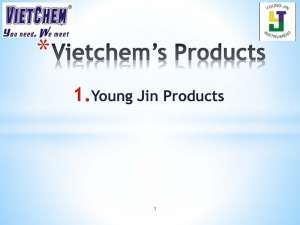 YoungJin's Products