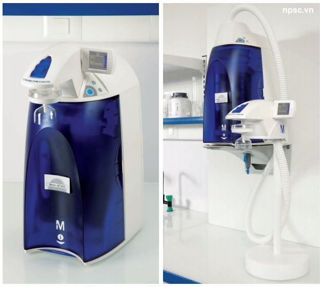 Máy lọc nước tinh khiết và siêu tinh khiết từ nước máy Direct - Q3®UV