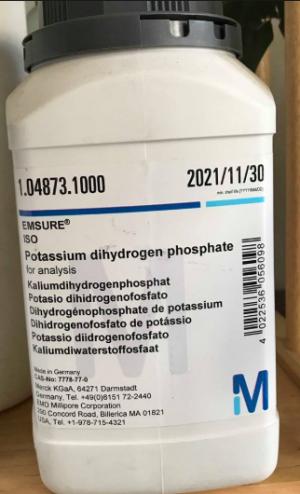 Potassium dihydrogen phosphate for analysis EMSURE® ISO MerckĐức