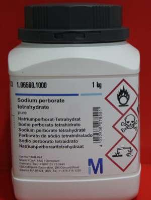 Sodium perborate tetrahydrate pure 1kg Merck