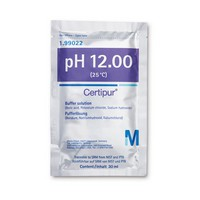 Buffer Solution (di-sodium hydrogen phosphate/sodium hydroxide) traceable to SRM from NIST und PTB pH 12.00 (25°C) Certipur® Merck