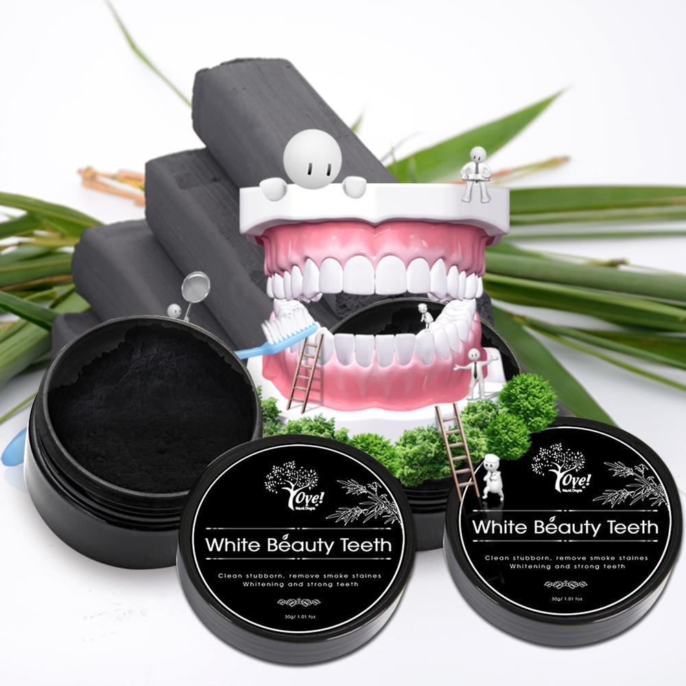 Sử dụng than hoạt tính để làm trắng răng
