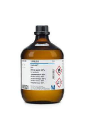 Nitric acid 65% for analysis EMSURE® Reag. Ph Eur,ISO 2.5l Merck