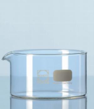 Chậu thủy tinh đường kính 190mm, cao 90mm, 2000ml, không mỏ Duran