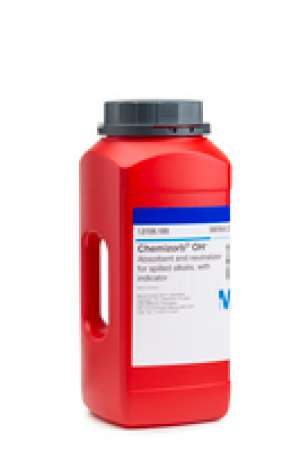 Chemizorb® OH⁻ Absorbent and neutralizer for spilled alkalis, with indicator Merck