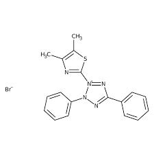 3-(4,5-Dimethyl-2-thiazolyl)-2,5-diphenyl-2H-tetrazolium bromide for biochemistry 10g Merck
