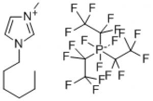 1-Hexyl-3-methylimidazolium tris(pentafluoroethyl)trifluorophosphate high purity 500g Merck