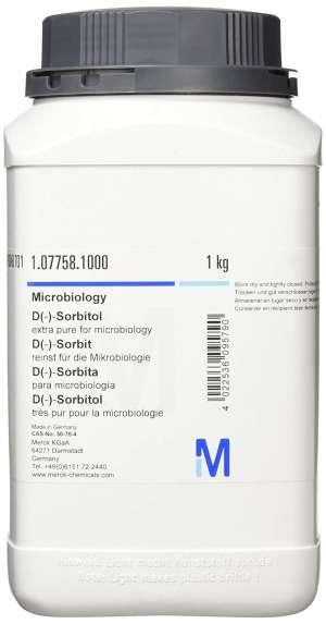 D(-)-Sorbitol extra pure for microbiology 1kg Merck
