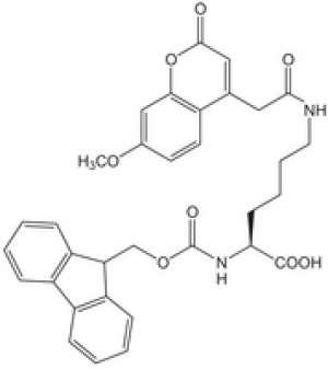 Fmoc-Lys (Mca)-OH Novabiochem® 1g Merck