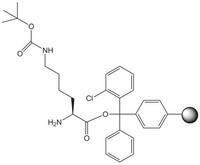 H-Lys(Boc)-2-ClTrt resin 1g Merck