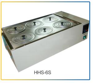 Bể điều nhiệt 2-6 vị trí HHS-6S Zhejiang